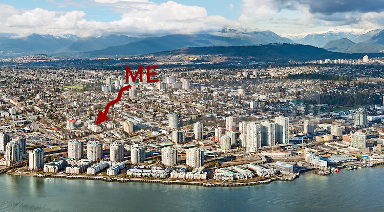 New Westminster Aerial Panorama